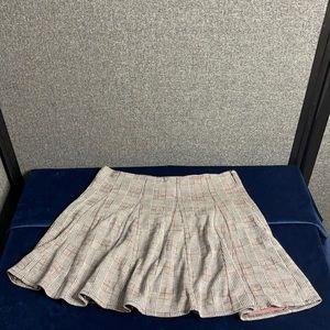 Tartan Grayscale skirt